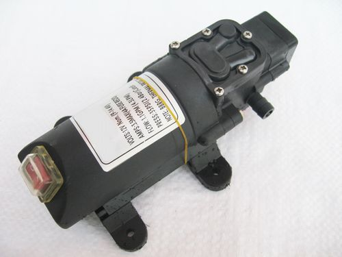 12V, 4.3LPM, 35PSI, Water & General Purpose, On/Off Switch Diaphragm Pump